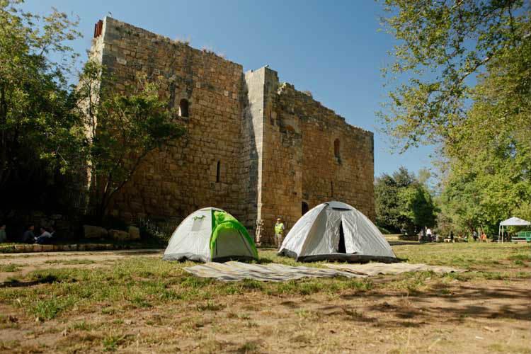 חניון לילה עין חמד, קמפינג במרכז הארץ, קמפינג ליד ירושלים