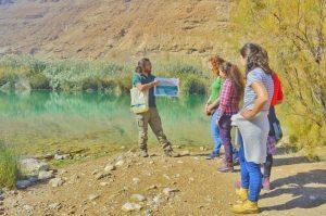 נחל יעל, מסלול מומלץ באזור הרי אילת