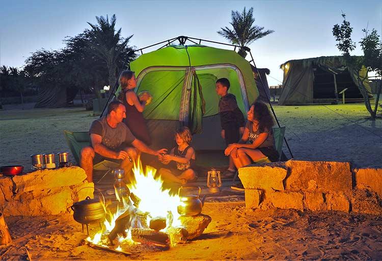 camping-in-israel, קמפינג ממשית החאן הנבטי