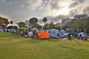 קמפינג בתל אביב