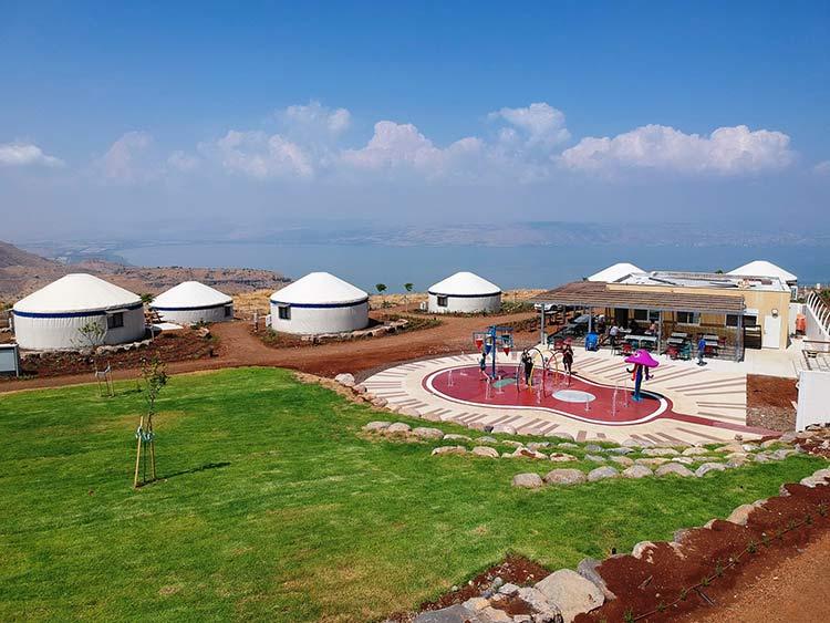 באי גלי, אוהל יורט ממוזג בגולן, אוהלים מונגוליים