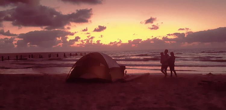 חופים לקמפינג חוף בית ינאי