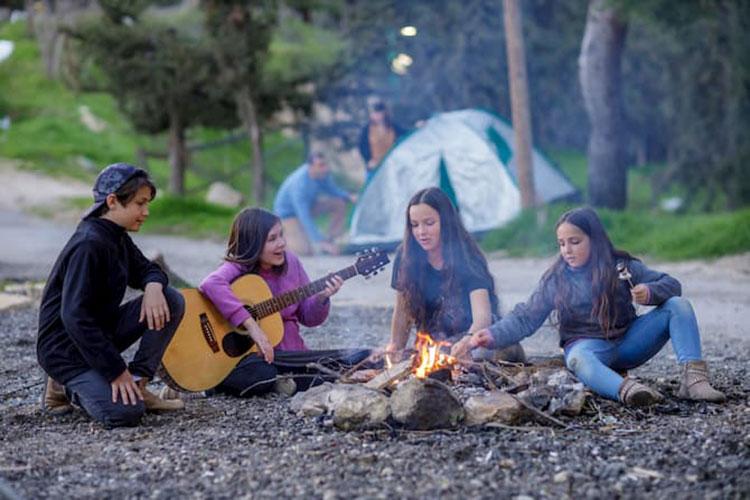 קמפינג יער השלום ירושלים