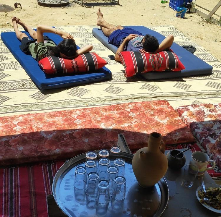 האוהל הירוק קצה המדבר