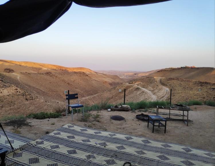 קצה המדבר האוהל הירוק