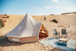 גלמפינג של הרפתקה במדבר, קמפינג פתחת ניצנה