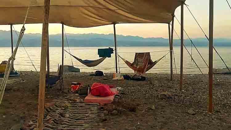 קמפינג חוף הנסיכה אילת, קמפינג החוף הדרומי