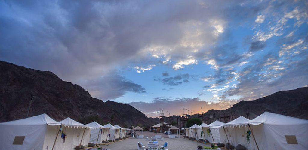קמפינג מדבריא נחל שלמה אילת, אוהלים ממוזגים באילת